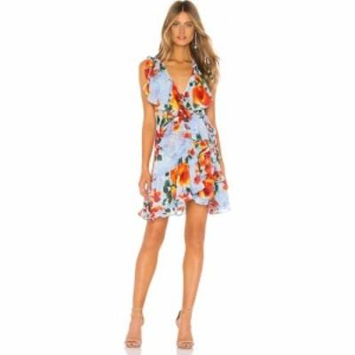 ミサロサンゼルス MISA Los Angeles レディース ワンピース ワンピース・ドレス X REVOLVE Irayaa Dress Blue Multi Floral