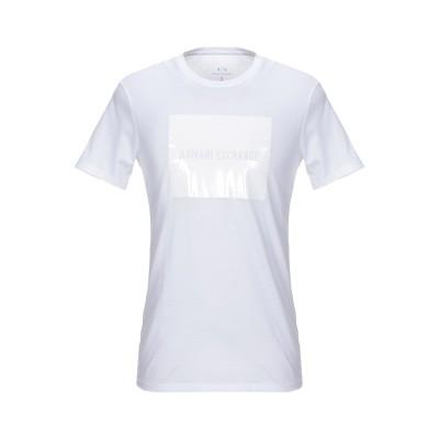ARMANI EXCHANGE T シャツ ホワイト XXL コットン 100% T シャツ