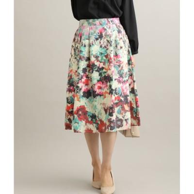 【ビス/ViS】 ヴィンテージフラワープリントスカート