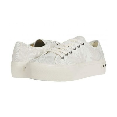 SeaVees シービーズ レディース 女性用 シューズ 靴 スニーカー 運動靴 Monterey Platform Palm - Off-White Palm