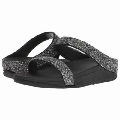 フィットフロップ ビーチサンダル Fino Quartz Sandals Black