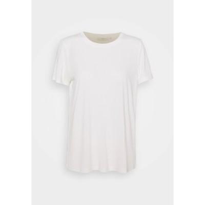 ミニマム レディース Tシャツ トップス RYNAH - Basic T-shirt - snow white snow white