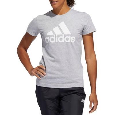アディダス adidas レディース Tシャツ トップス Basic Badge of Sport T-Shirt MGH