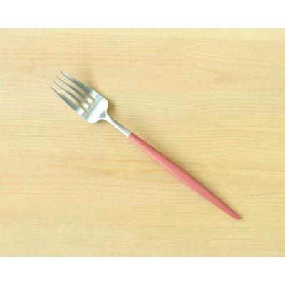 【Cutipol】クチポール GOAレッド GO04R テーブルフォーク / 食器 和食器 洋食器 カトラリー