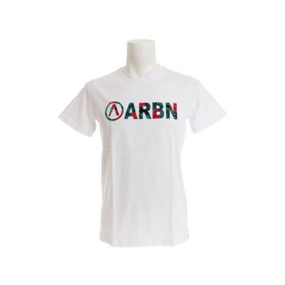 エアボーン(ARBN) Tシャツ メンズ 半袖 BOTANICAL LOGO AB99AW1180 WHT/GRN オンライン価格 (メンズ)