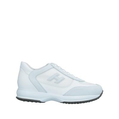 ホーガン HOGAN スニーカー&テニスシューズ(ローカット) ホワイト 7.5 革 / 紡績繊維 スニーカー&テニスシューズ(ローカット)