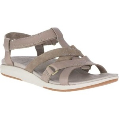 メレル レディース サンダル シューズ Kalari Shaw Strap Sandal Brindle Full Grain Leather
