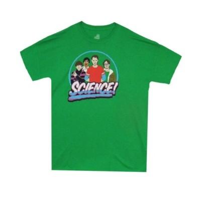 Tシャツ ビッグマンセオリー The Big Bang Theory 8 Bit Science Sheldon Cooper Licensed Adult T Shirt