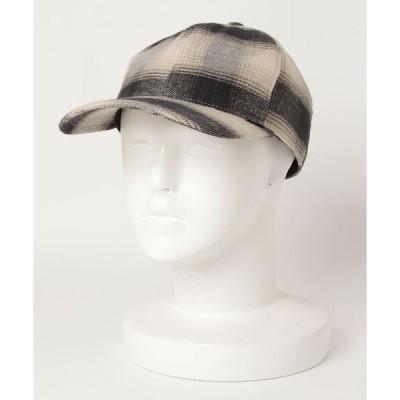 帽子 ハット SOFT CREAM / オンブレ 6パネル キャップ