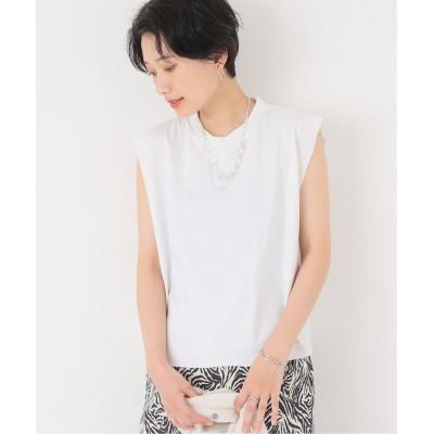 レディース ジョイントワークス 【UPCYCLE/アップ サイクル】WOMENS VINTAGE WASH ROCK Tシャツ ホワイト フリー