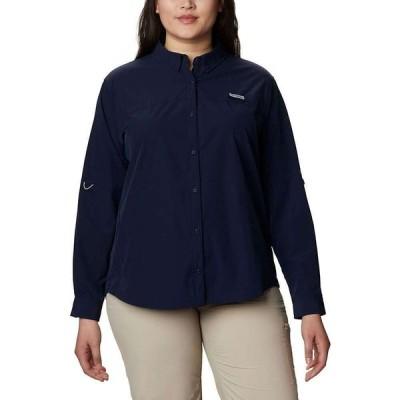 コロンビア Columbia レディース ブラウス・シャツ トップス Coral Point LS Woven Shirt Collegiate Navy