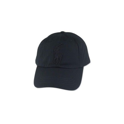 ☆ RALPH LAULEN【ラルフローレン】CLASSIC BIG PONY SPORTS CAP BLACK ブラック 16952