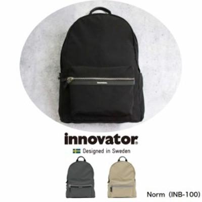 INNOVATOR/イノベーター Vanlig Norm ヴァンリグ ノーム INB-100 デイリーパック バックパック リュックサック 軽量 ビジネス 出張 ナイ