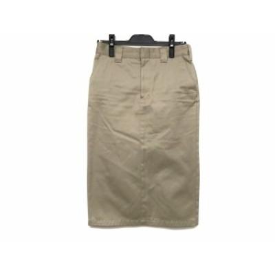 ハイク HYKE スカート サイズ2 M レディース 美品 ベージュ【還元祭対象】【中古】20200930