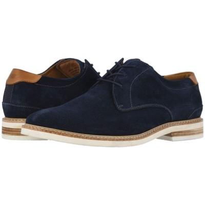 フローシャイム Florsheim メンズ 革靴・ビジネスシューズ シューズ・靴 Highland Plain Toe Oxford Navy Suede/White Sole