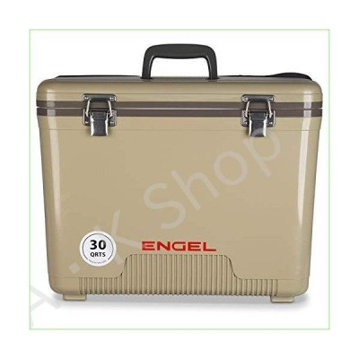 ENGEL 30 Quart Leak-Proof air-Tight drybox/Cooler, Tan (UC30T)--並行輸入品--