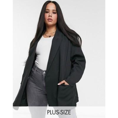 ハートブレイク プラス Heartbreak Plus レディース スーツ・ジャケット アウター oversized dad blazer in black ブラック