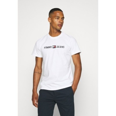トミーヒルフィガー Tシャツ メンズ トップス ABO TJU X SPONGEBOB TEE UNISEX - Print T-shirt - ivory
