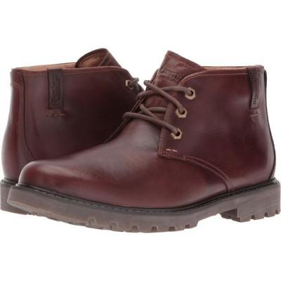 ダナム Dunham メンズ ブーツ チャッカブーツ シューズ・靴 Royalton Chukka Waterproof Brown