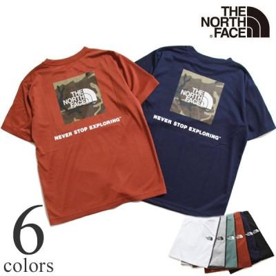 THE NORTH FACE Tシャツ ザ ノースフェイス S/S Square Camoflage Tee ショートスリーブスクエアカモフラージュティー NT32158