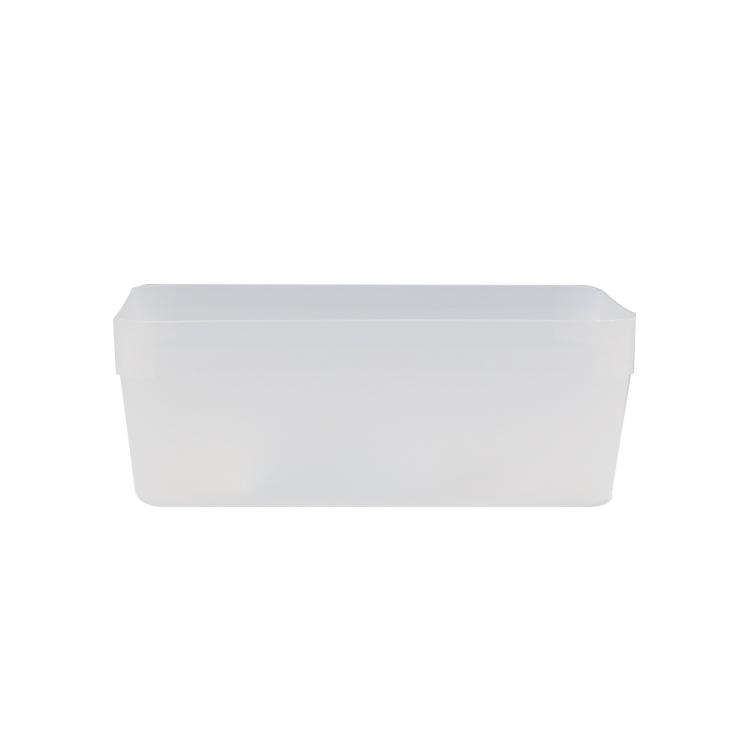 KEYWAY 寶來2號深型整理盒-透明/飾品小物收納盒/桌上型文具收納盒