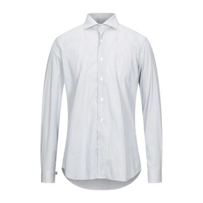 UNGARO シャツ アジュールブルー 38 コットン 100% シャツ