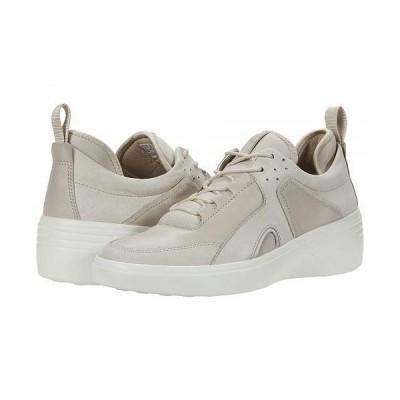 ECCO エコー レディース 女性用 シューズ 靴 スニーカー 運動靴 Soft 7 Wedge City Sneaker - Gravel/Gravel Yak Nubuck/Cow Leather