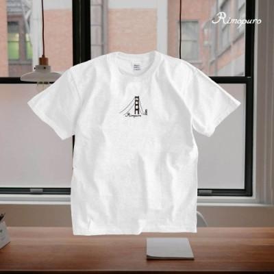 ブリッジデザイン 半袖Tシャツ 男女兼用 メンズ/レディースOK Rimopuro rist2
