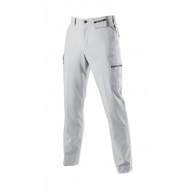 BURTLE バートル 7096 カーゴパンツ シルバー 70サイズ 春夏用 メンズ ズボン 吸汗速乾 形態安定 制電ケア 作業服 作業着 7091シリーズ