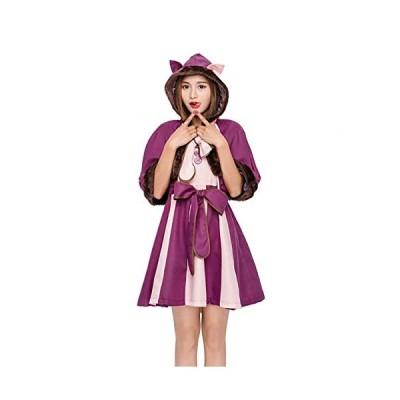 S&C Live 不思議の国のアリスコスプレ衣装 レディース 高品質 豪華4点セット ハロウィンコスプレ衣装  チ?