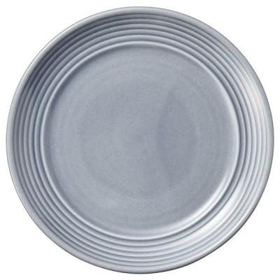 ロティ 28cm ディナー グレー 洋食器 丸型プレート(L) 業務用 カネスズ 約28.1cm 肉料理 魚料理