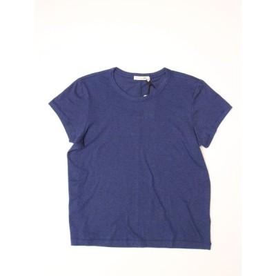 ラグアンドボーンジーン ブルー ベーシックTシャツ BASIC TEE BLUE クルーネックTシャツ MADE IN USA アメリカ製 rag&bone/JEAN 新品 RB98-W5
