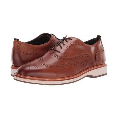 Cole Haan コールハーン メンズ 男性用 シューズ 靴 オックスフォード 紳士靴 通勤靴 Morris Wing Oxford - British Tan
