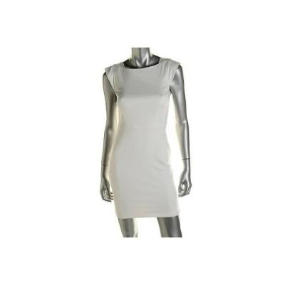 ドレス 女性  フレンチコネクション French Connection 8578 レディース ホワイト Pintuck Wear to Work ドレス 12