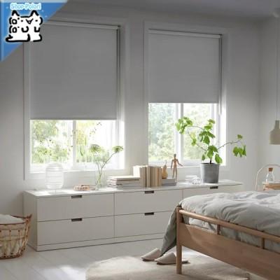 【IKEA Original】FRIDANS -フリダンス- 遮光ローラーブラインド グレー 80x195 cm