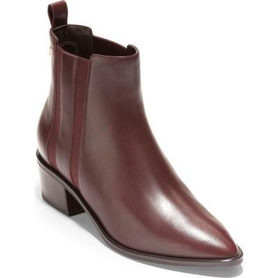コールハーン COLE HAAN レディース ブーツ シューズ・靴 Valorie Bootie Mahogany Leather