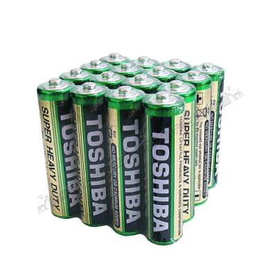 東芝TOSHIBA 環保碳鋅電池 (4號16顆入)