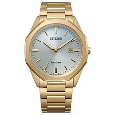 メンズ シチズン エコドライブ コルソ ゴールド調腕時計 BM7492-57A