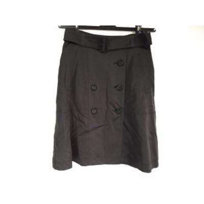 ボディドレッシングデラックス BODY DRESSING Deluxe スカート サイズ36 S レディース 美品 ダークグレー【中古】