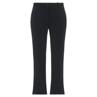 NINE:INTHE:MORNING パンツ ブラック 30 ポリエステル 80% / レーヨン 14% / ポリウレタン 6% パンツ
