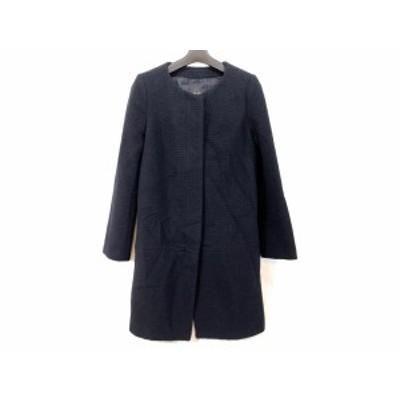 ノーブル NOBLE コート サイズ36 S レディース - 黒 長袖/冬【中古】20200918