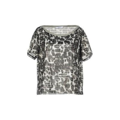 LIU JO Tシャツ ファッション  レディースファッション  トップス  Tシャツ、カットソー  半袖 ミリタリーグリーン