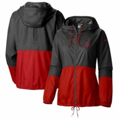 Columbia コロンビア スポーツ用品  Columbia Houston Rockets Womens Black Flash Forward Full-Zip Windbreaker Jacket