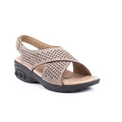 ザラフィット レディース サンダル シューズ Shoe Olivia Adjustable Cross Strap Sandal Champagne