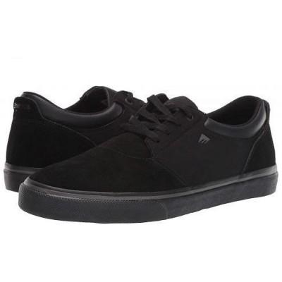 Emerica エメリカ メンズ 男性用 シューズ 靴 スニーカー 運動靴 Alcove - Black/Black/Grey