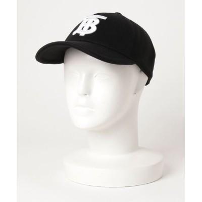 ECHELLE Liberte / BURBERRY JERSEY BASEBALL CAP バーバリー TB モノグラム ベースボールキャップ MEN 帽子 > キャップ