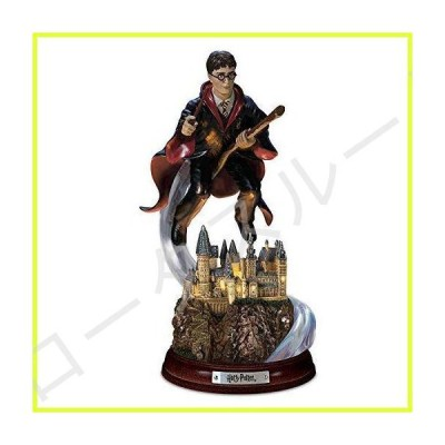 The Bradford Exchange Harry Potter Harry's Magical Flight Illuminated Sculpture 並行輸入品