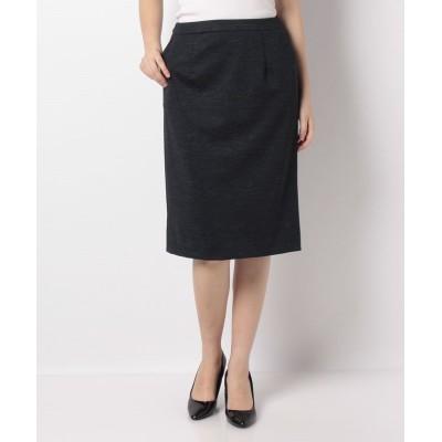 【エーシーデザインバイアルファキュービック】 ポンチタイトスカート レディース ブルー 67cm A/C DESIGN BY ALPHA CUBIC