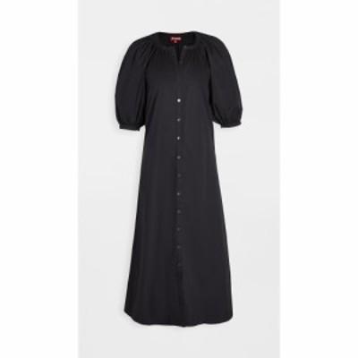 スタウド STAUD レディース ワンピース ワンピース・ドレス Vincent Dress Black