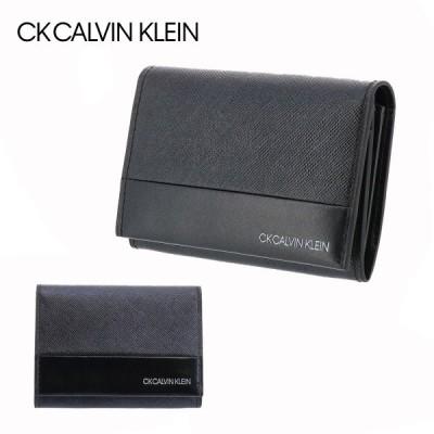 シーケー カルバンクライン 名刺入れ アロイII メンズ 822653 CK CALVIN KLEIN カードケース 本革 レザー [PO5]
